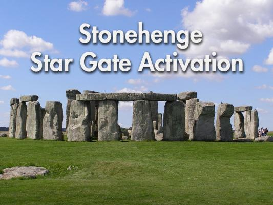 Stonehenge Star Gate no words